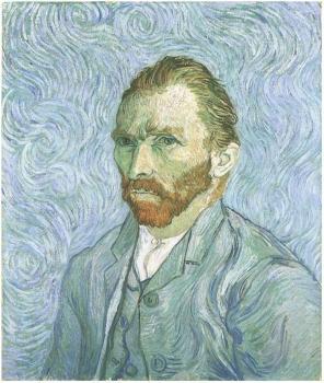 Van Gogh - Self-Portrait (Saint-Remy, 1889)